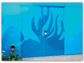 Custom door two